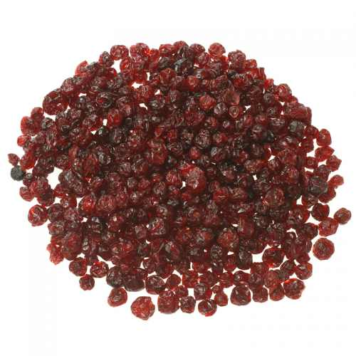Dried infused lingonberries