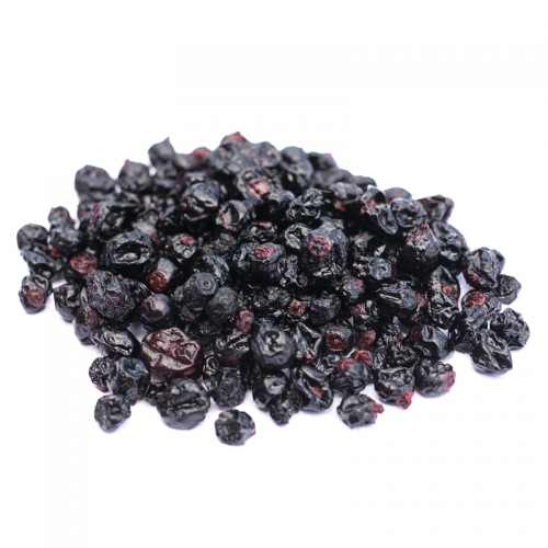 blackcurrants dried infused