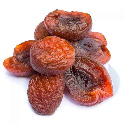Dried infused apricots