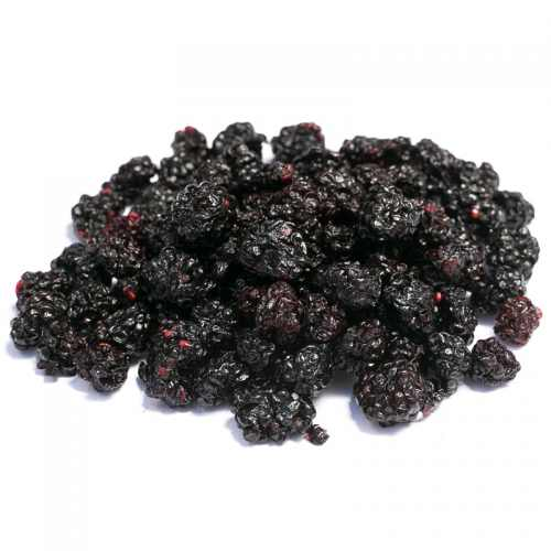 Dried wild blackberries