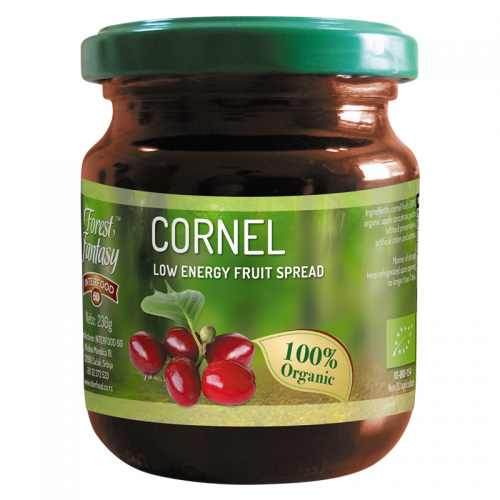 Cornel fruit spread
