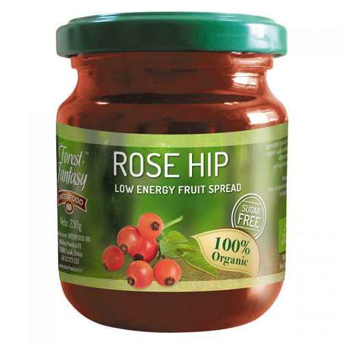 Rose hip fruit spread